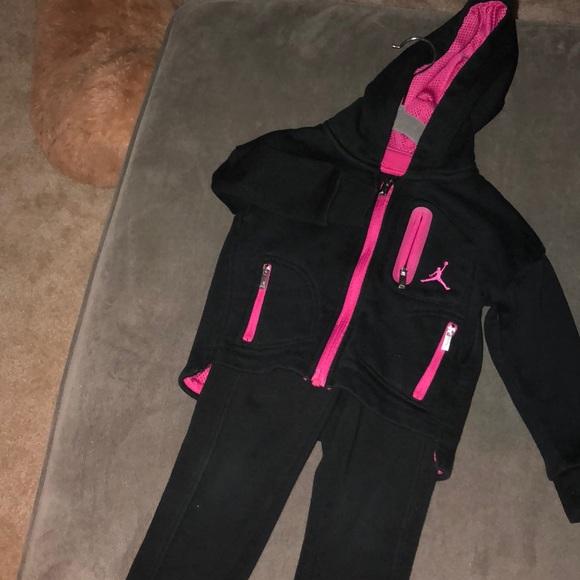Jordan Other - Jordan black and pink sweatsuit f0b769512e73